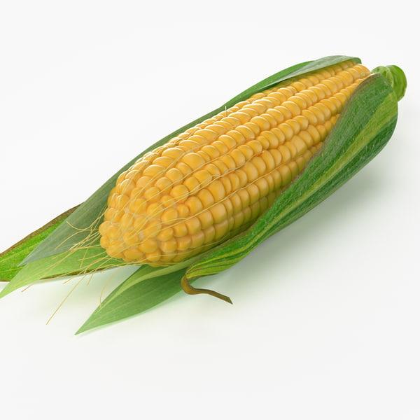 3ds max realistic corn real
