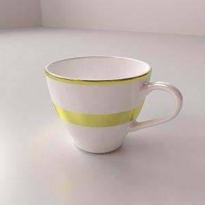 3d model cup v1