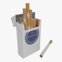 3d pack cigarettes