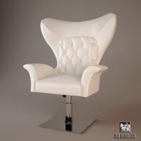 3d model visionnaire armchair york