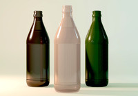 c4d 571250 beer bottle