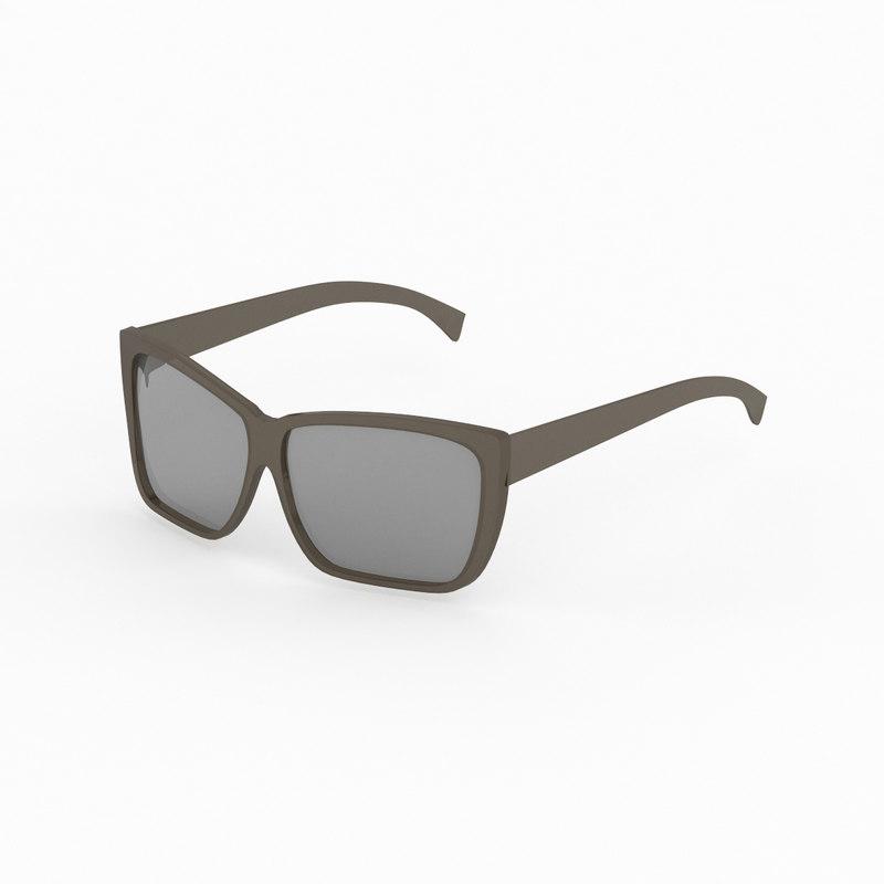 3ds max fendi sunglasses