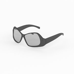 fendi sunglasses 3d max