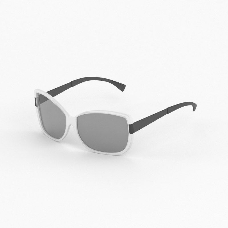 fendi sunglasses 3d max