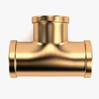 plumbing pipe 3d model