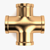 3d 3ds plumbing pipe