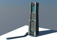 c4d landmark tower yokohama