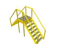 conveyor crossovers 3d dwg