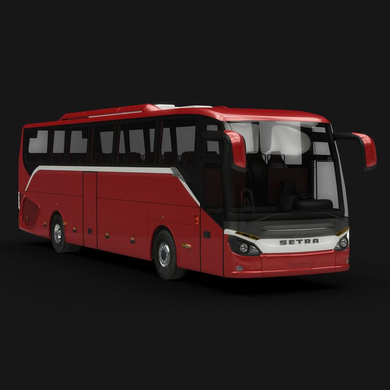 setra s 515 3d model
