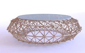 kenneth cobonpue polyethylene dreamcatcher 3d model