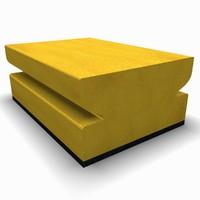 3d model sponge