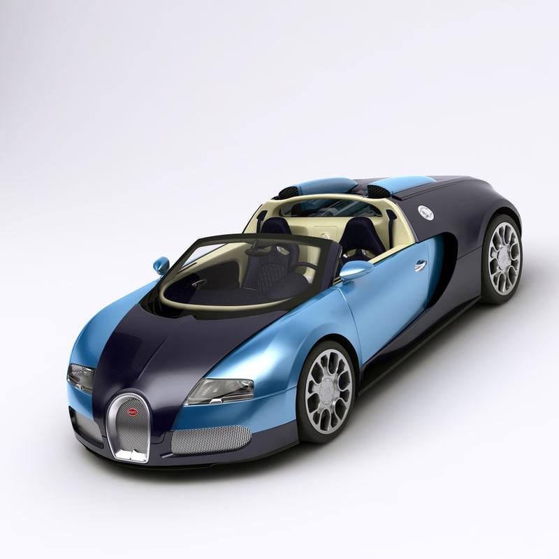 bugatti veyron car details 3ds