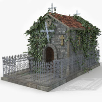 Graveyard Crypt Building