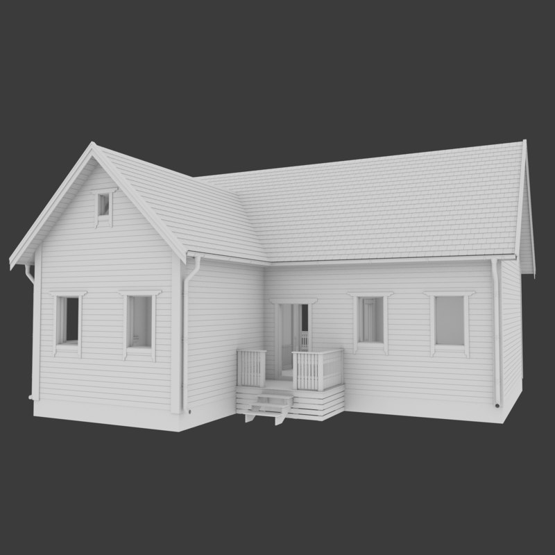 3d residential home interior