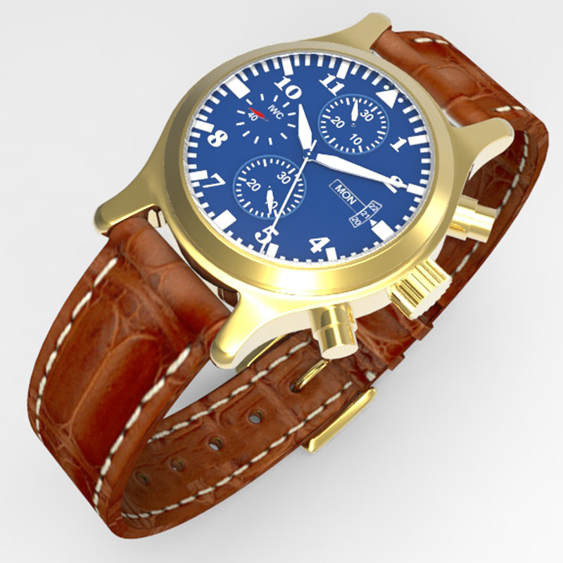 3ds wrist watch
