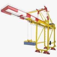 Port Container Crane 01