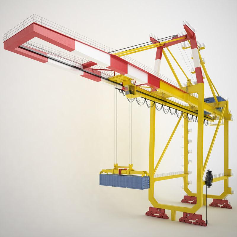 container crane port max