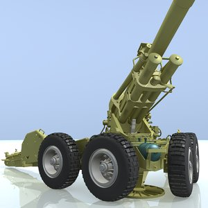 3d ob-155 bf50 155-mm howitzer model