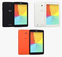 LG G Pad 7.0 All Colors