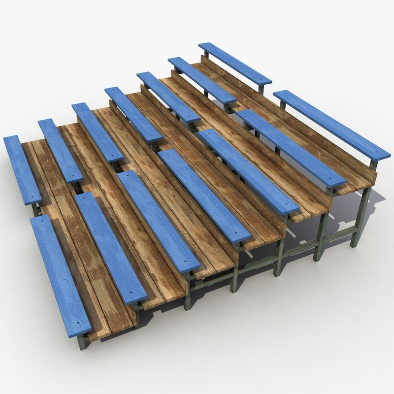 3d bench stadium