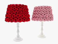 rose covered lamps max