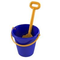 Toy Spade & Bucket Set