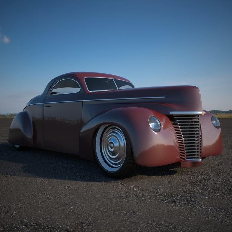 3d 1940 model