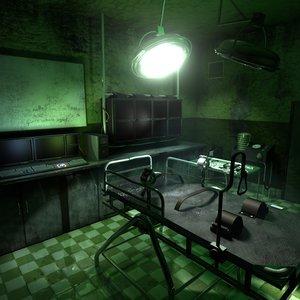 laboratory scene obj