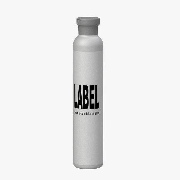 3d model cosmetic bottle