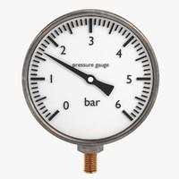 3ds max pressure gauge