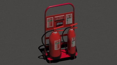 max extinguishers trolley