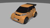 e-rallye car