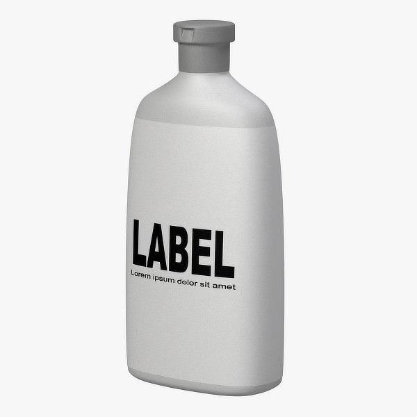 cosmetic bottle obj