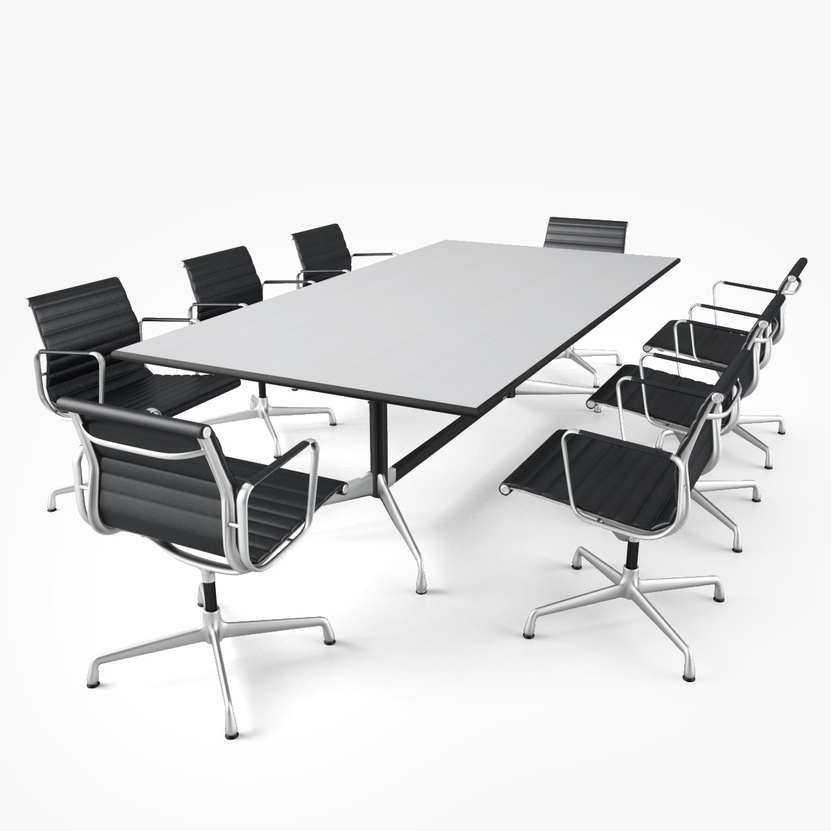 office meeting room furniture. Vitra Conference Table 3d Obj Office Meeting Room Furniture