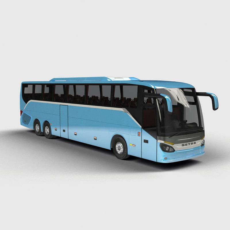 3d model setra s517 hd