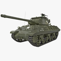 US Tank Destroyer M36 Jackson WWII