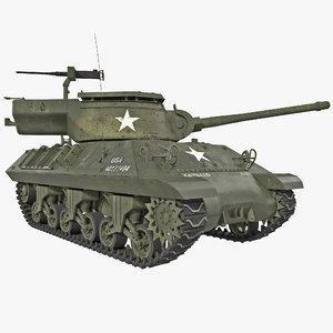 tank destroyer m36 jackson 3d max