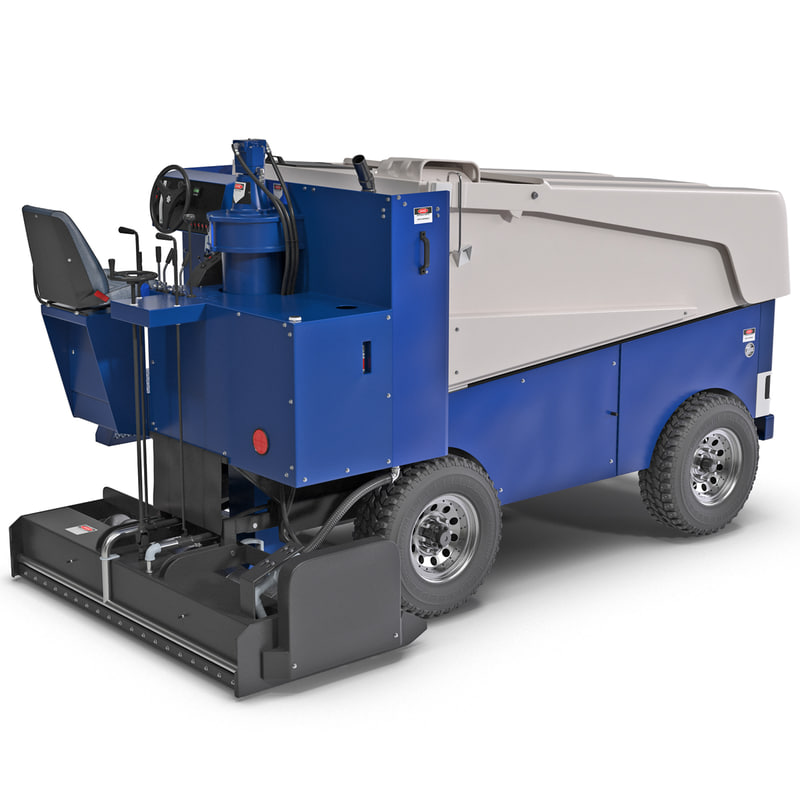 zamboni 552 ice machine 3d model