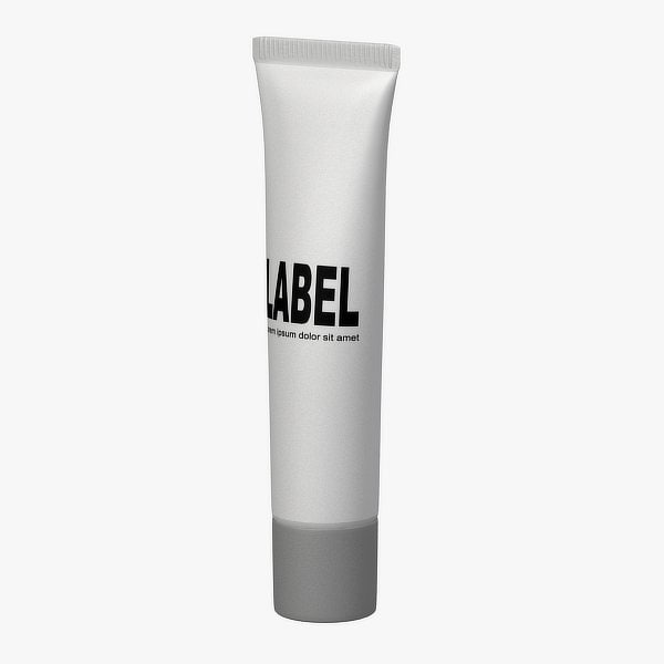 cosmetic tube 3d obj
