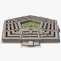 The Pentagon Low-Poly
