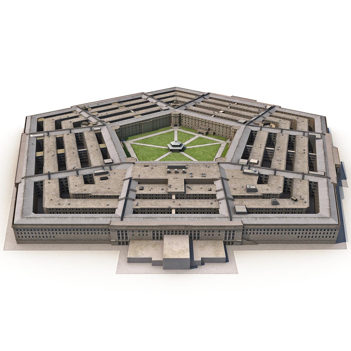 max pentagon low-poly