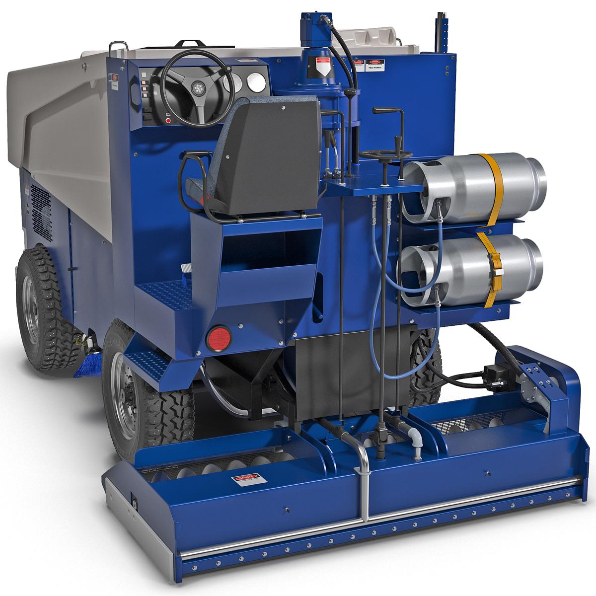 3d zamboni 525 ice machine model