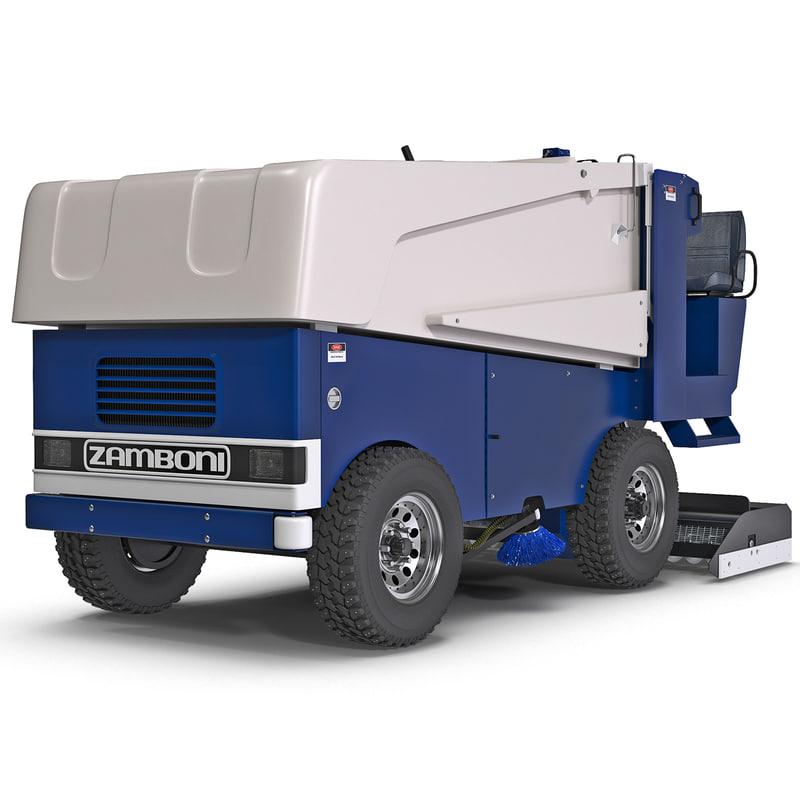 zamboni 546 ice machine 3d 3ds