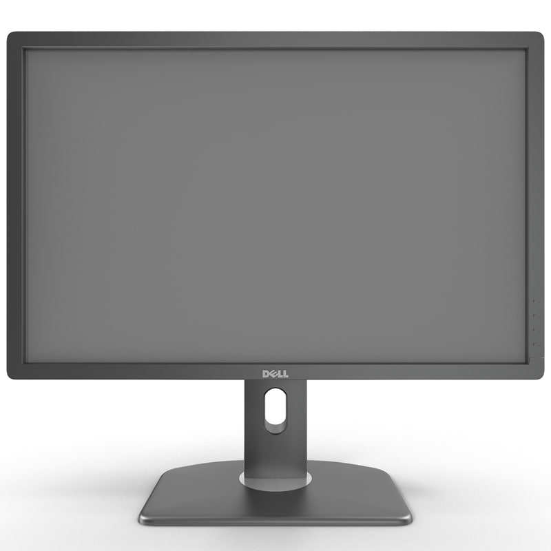 3ds max led lcd monitor dell