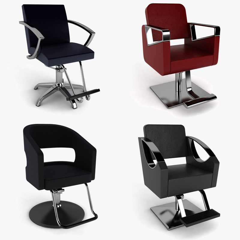 3d Max Barber Chair Free Download