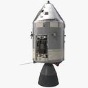 space capsule 3D models