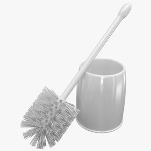 casabella bowl brush set 3d model