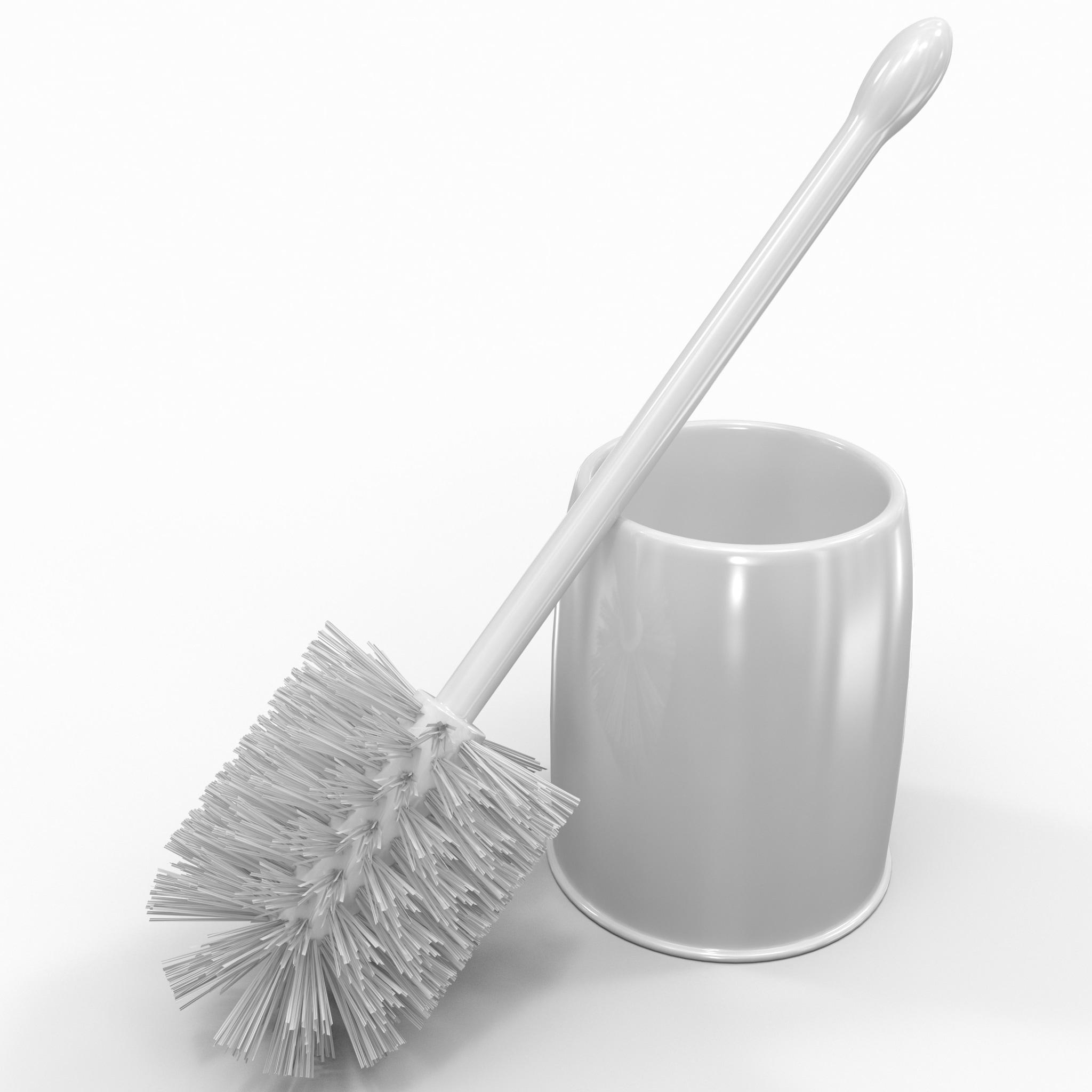 casabella bowl brush set 3d model