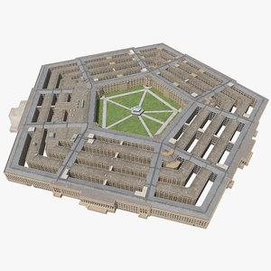 3ds pentagon structure