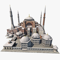 Hagia Sophia Low Poly